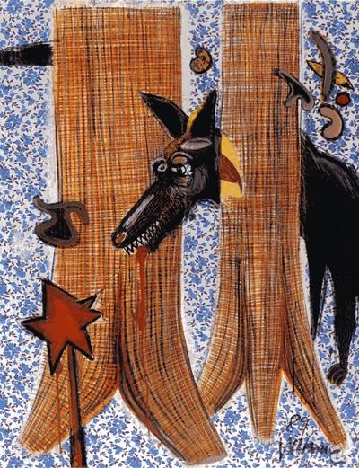 talu muru exotik, der Wolf und der rote Stern