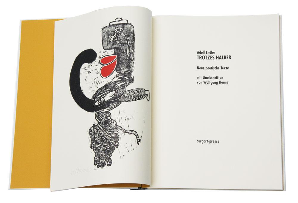 Originalgrafische Bücher, Wolfgang Henne